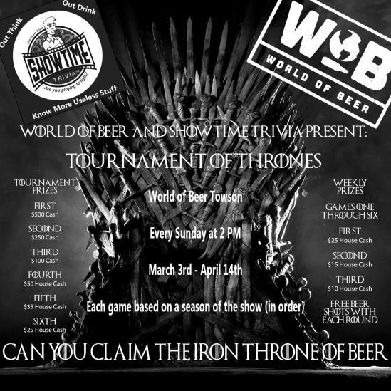tournament of thrones