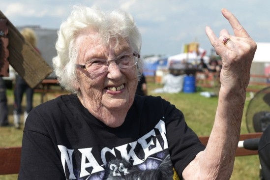 Heavy Metal Grandma